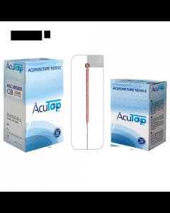 Akupunkturnadeln AcuTop Kupfergriff Typ CB 0,30 x 40 mm, 100 Stück