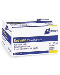 Vliesstoffkompresse BeeSana ,steril, verschiedene Größen, 25 x 2  Stück