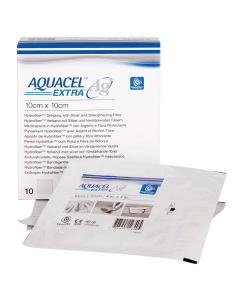 Primärverband Aquacel AG Extra, steril, verschiedene Größen, 10 Stück
