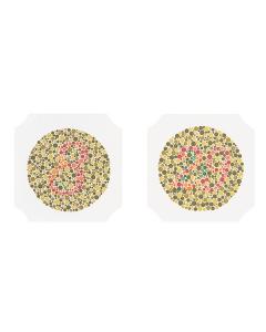 Sehtesttafeln Oculus Farbprüftafel nach Ishihara