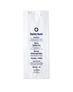 Hygienebeutel mit Seitenfalte, 100 Stück