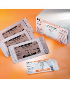 Nahtmaterial Glycolon DSM 13,resorbierbar, ungefärbt monofil, verschiedene Größen, 0,45 m , 24 Stück
