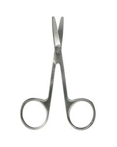 Nagelschere, gebogen, 11 cm