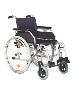 Rollstuhl Servomobil Alu-Light aus Aluminium, 43-45 cm Sitzbreite