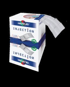 Injektionspflaster Master AID weiß 3,9 x 1,8 cm, 100 Stück