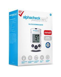 Blutzuckermessgerät alphacheck professional NFC Set mmol/l